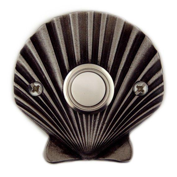 Door Bell Cover Plate  Sea Shell Custom Design