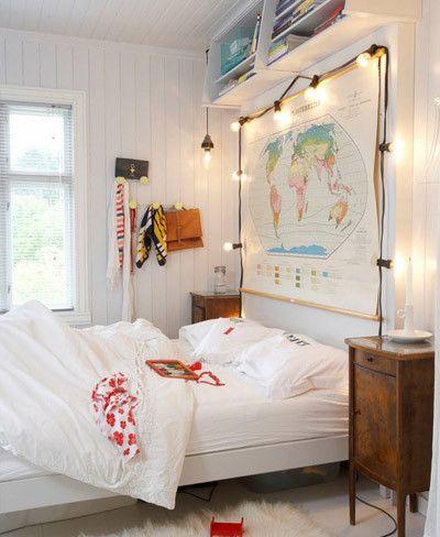 Resultado de imagen para habitaciones con mapas