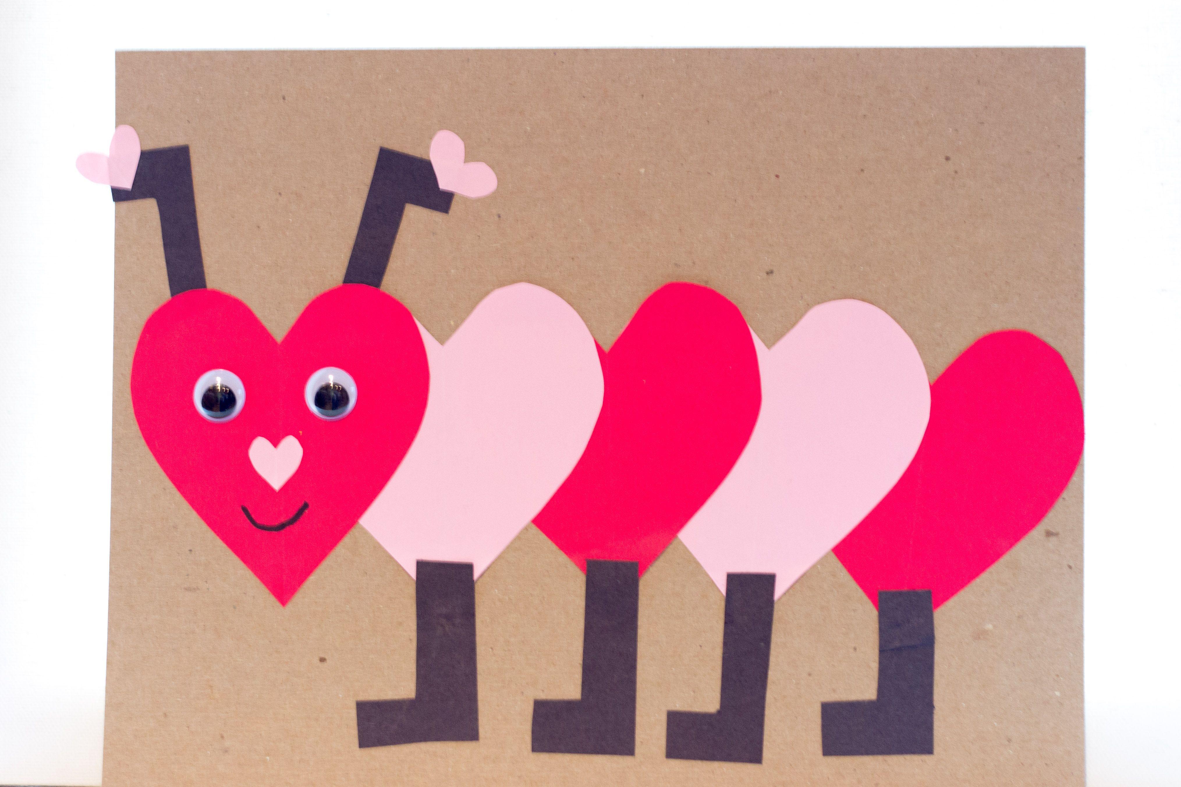 Kindergarten Valentines Project