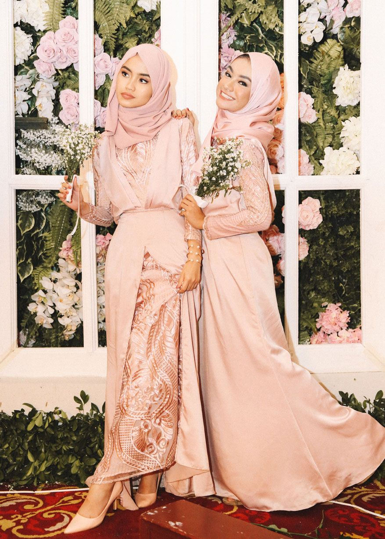 Firaa assagaf bridesmaids hijab dress pinterest kebaya