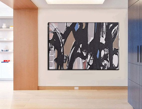 XL Abstract Painting / Original Palette Knife Painting