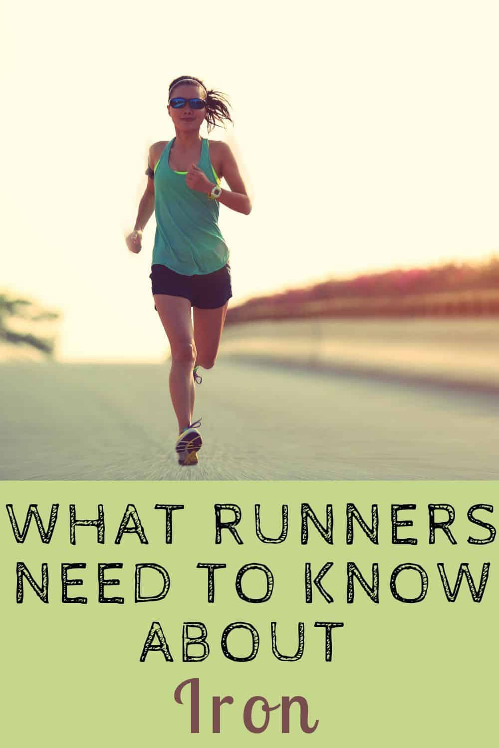 Do Runners Need More Iron? Spotting Iron Deficiency in Runners
