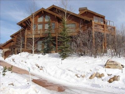 Lower Deer Valley -  Private Home, Extended Hot Tub Deck and Heated Driveway