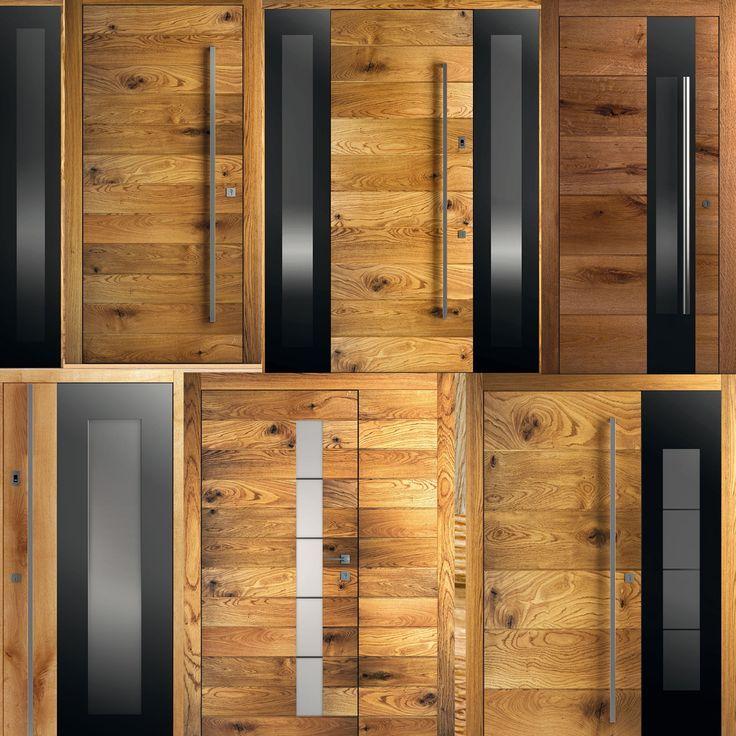 Exclusive X FAKTOR external door – wood as the main role …