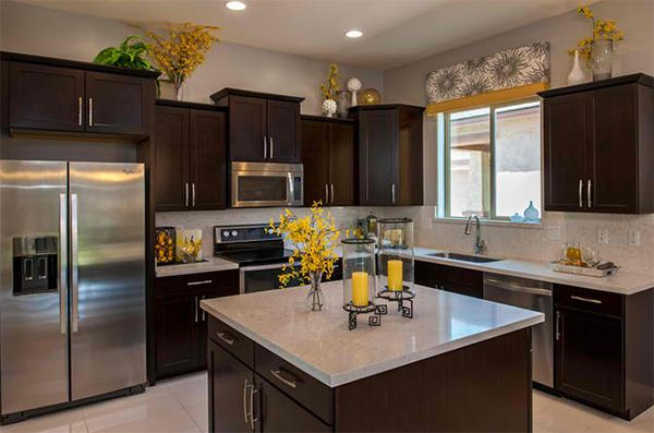 How To Decorate The Top Of Kitchen Cabinets Cabinets Countertops