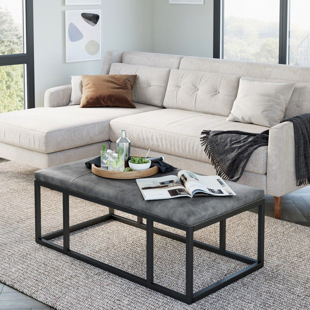 It S A M O O D Thank You Nelson Ottoman For Getting Us Ready For The Weekend Although Let S Be Leather Ottoman Coffee Table Coffee Table Wood Coffee Table [ 1080 x 1080 Pixel ]