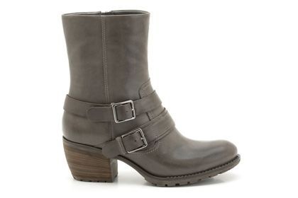 Majestic Way in Grey Leather from Clarks shoes