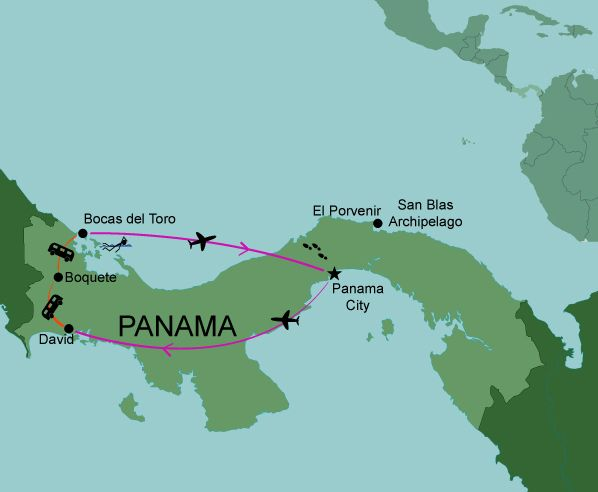 an overview of the republic of panama at the narrowest point of the central american isthmus Why take a meeting or an incentive group to the republic of panama panama is the southernmost of the central american the isthmus of panama is the narrowest.