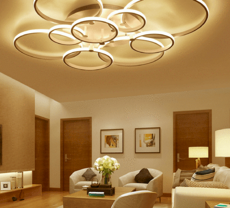 Inspiration Lights Decorate Space Let The Room Be More Beautiful And Impressive H In 2020 Ceiling Lights Living Room Modern Led Ceiling Lights Bedroom Ceiling Light