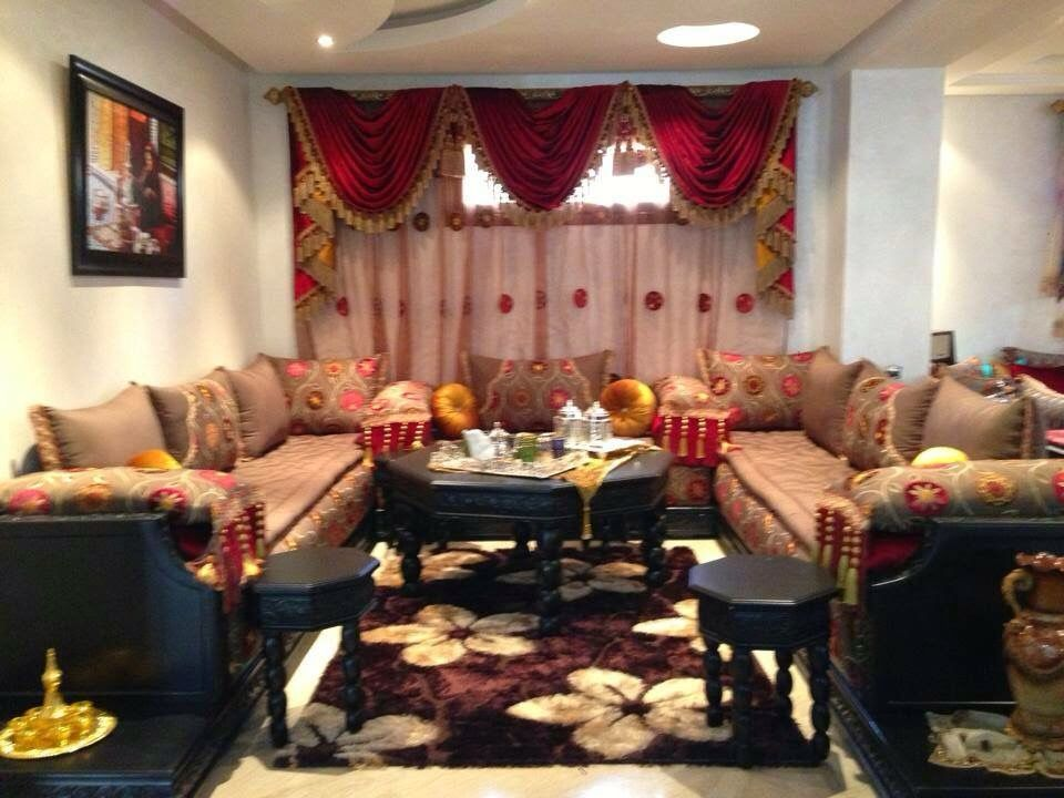 Salon Marocain Salon Marocain Decor Home Decor Curtains