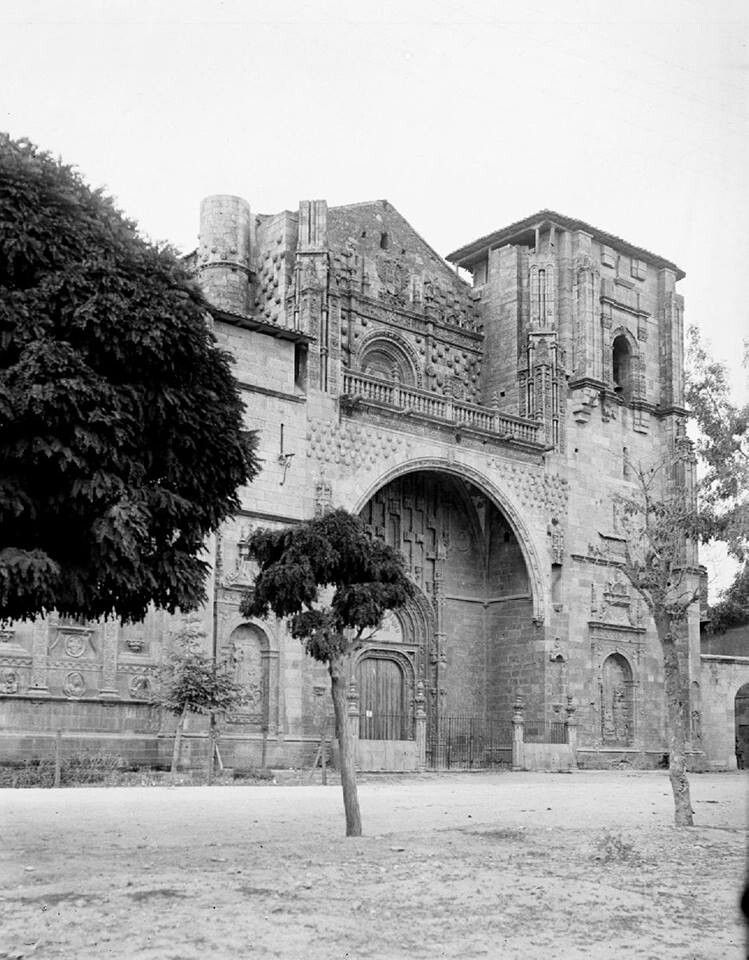 León, fotos antiguas,  iglesia del parador de San Marcos