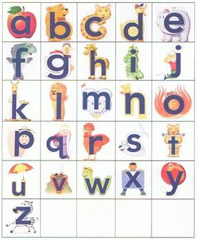 graphic regarding Alphafriends Printable named Alphafriend Printable Playing cards ABC/alphabet Visits