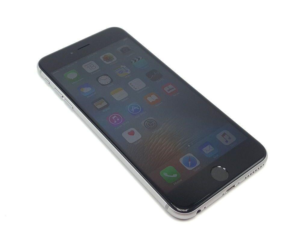 Iphone 6 Plus Silver 16 Gb Desbloqueado Apple Iphone 6 Apple Mobile Apple Iphone 6s Plus