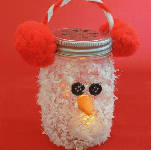 50 Amazing Craft Ideas For Seniors Mason Jar Christmas Crafts