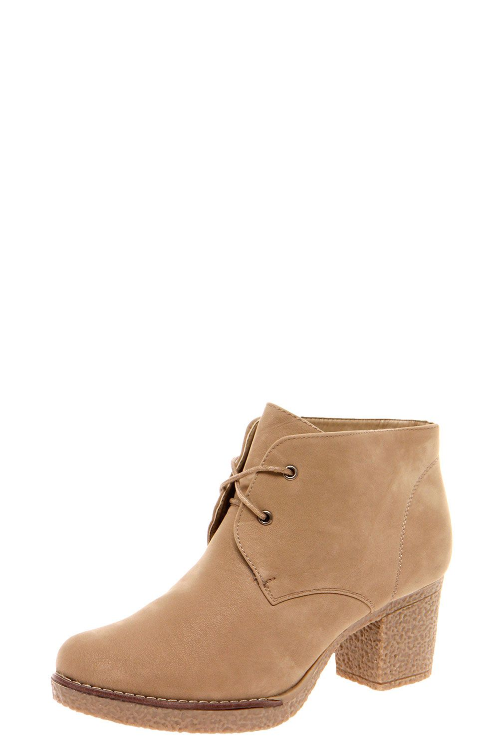 Sophie Lace Up Chunky Heeled Boot