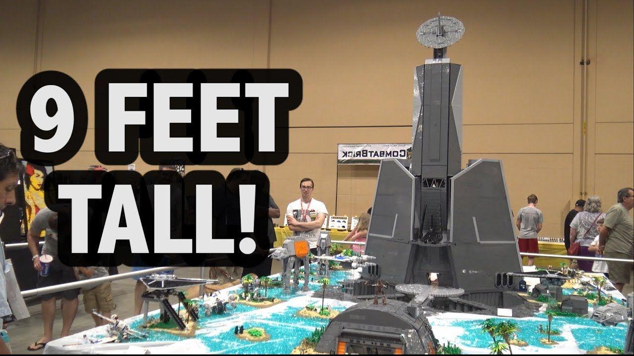 Huge Lego Battle Of Scarif Citadel Tower Star Wars Lego