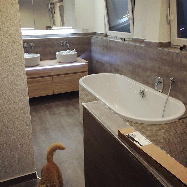 Himmel ✨ #bad #renovieren #fast #fertig #eigenheim #schönerwohnen - badezimmer badewanne dusche