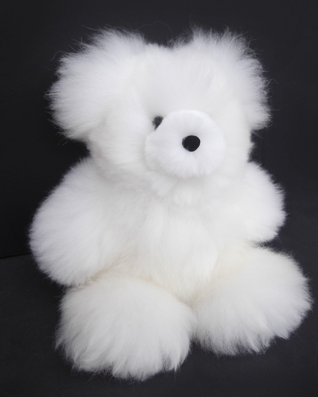 Handmade Stuffed Alpaca Fur Teddy Bear White Alpaca Fur Bear Etsy Alpaca Stuffed Animal Teddy Bear Handmade Teddy Bears [ 3000 x 2404 Pixel ]
