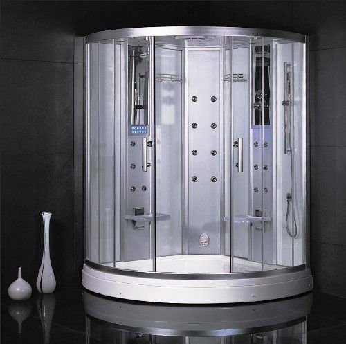 Steam Shower Systems Monza Steam Shower 2 Persons Capacity 20 Jets 220v 15amp 3kw Steam Steam Shower Enclosure Shower Enclosure Shower Enclosure Kit