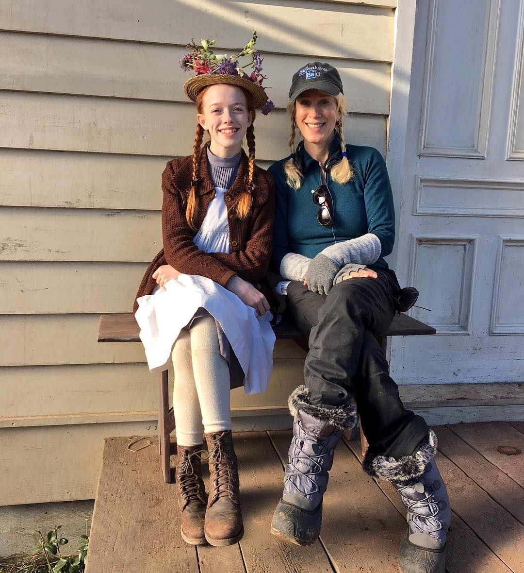 Kudos To These Two Women Amybeth Mcnulty For Her Wonderful Anne