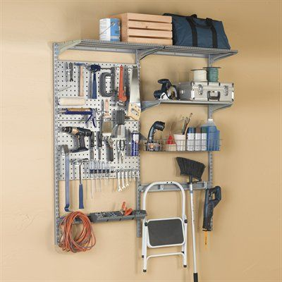Triton Wall Mounted Organization 1740 Storability Garage Storage System