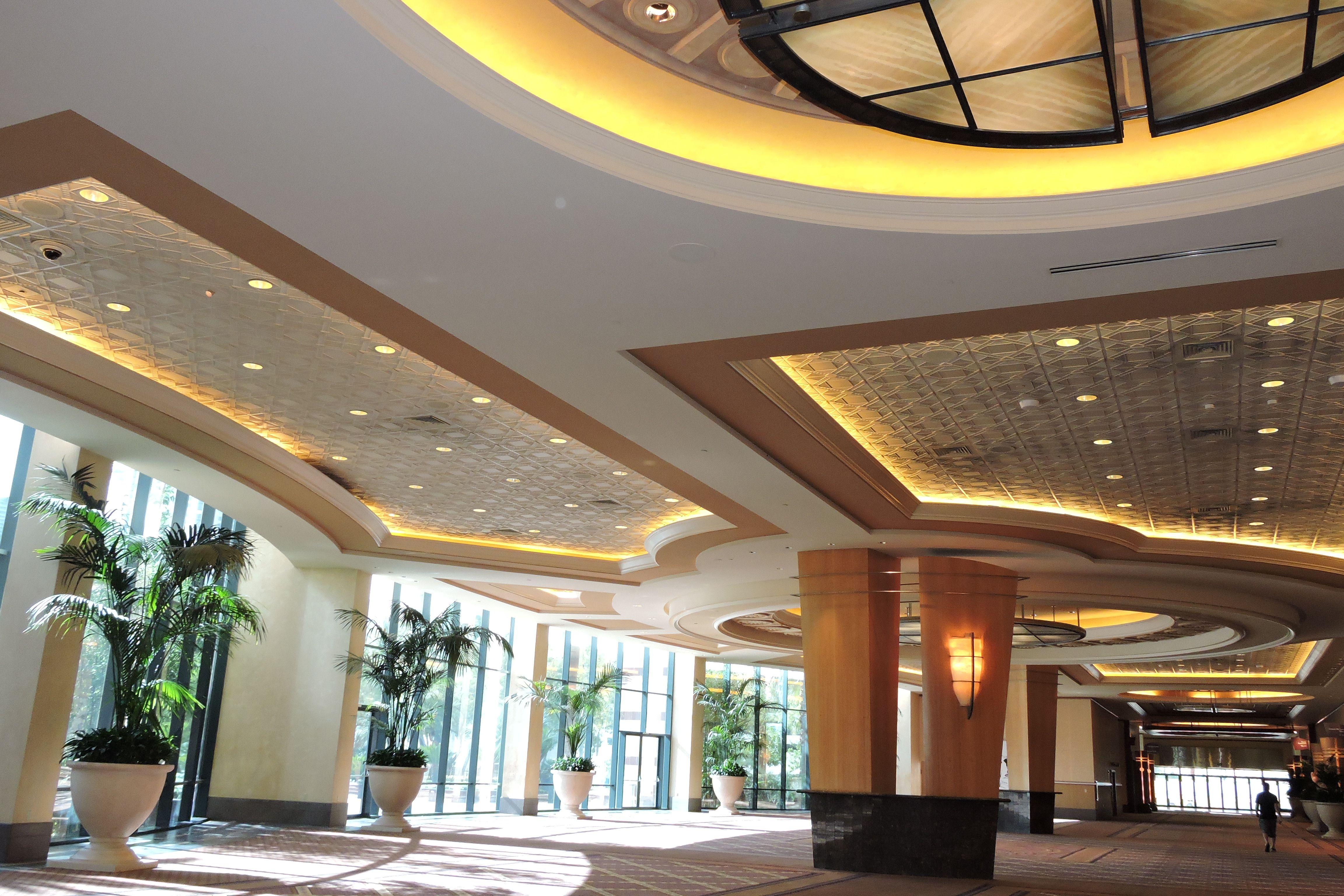 MGM Conference Center Las Vegas NV Art Deco I Ceiling TIle TL 0026