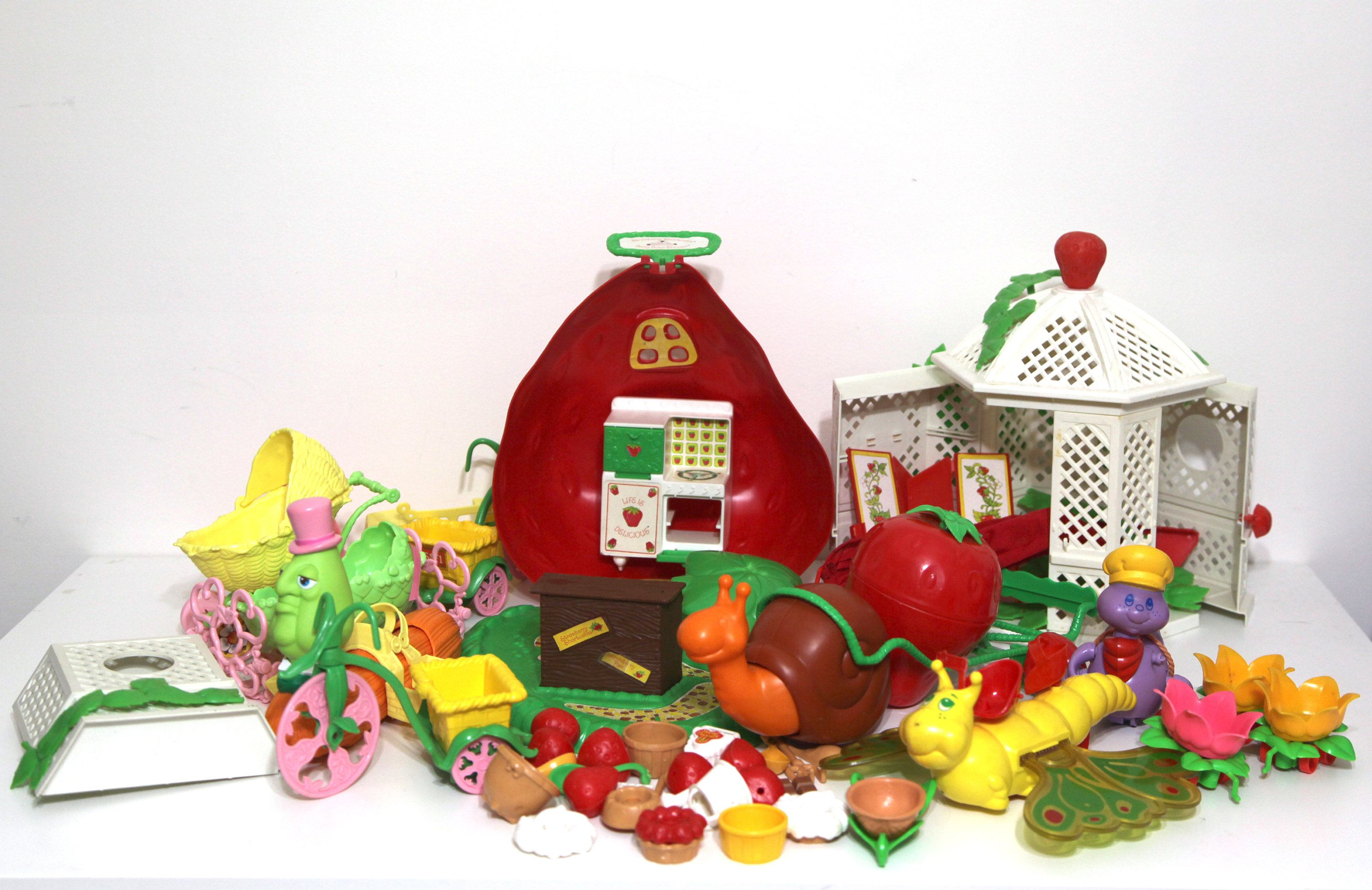 Vintage Strawberry Shortcake Doll Accessories Playsets Berry Etsy Dolls