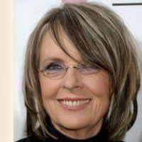 60 ans mi longs Diane keaton hairstyles, Bob hairstyles
