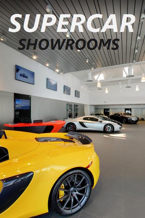 What A Supercar Showroom Should Look Like Super Cars Car Showroom Showroom Design