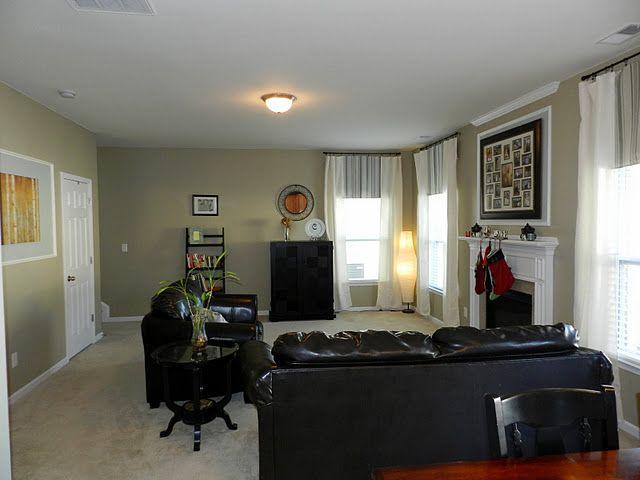 Sherwin Williams Universal Khaki Furniture Placement