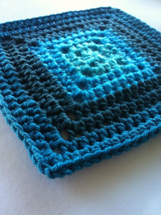 Solid Granny using htr (hdc US) | Crochet projects | Pinterest