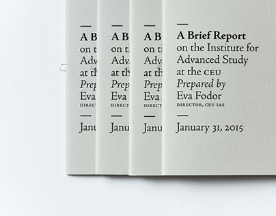 Check out this @Behance project \u201cIAS Report\u201d   wwwbehance - project report