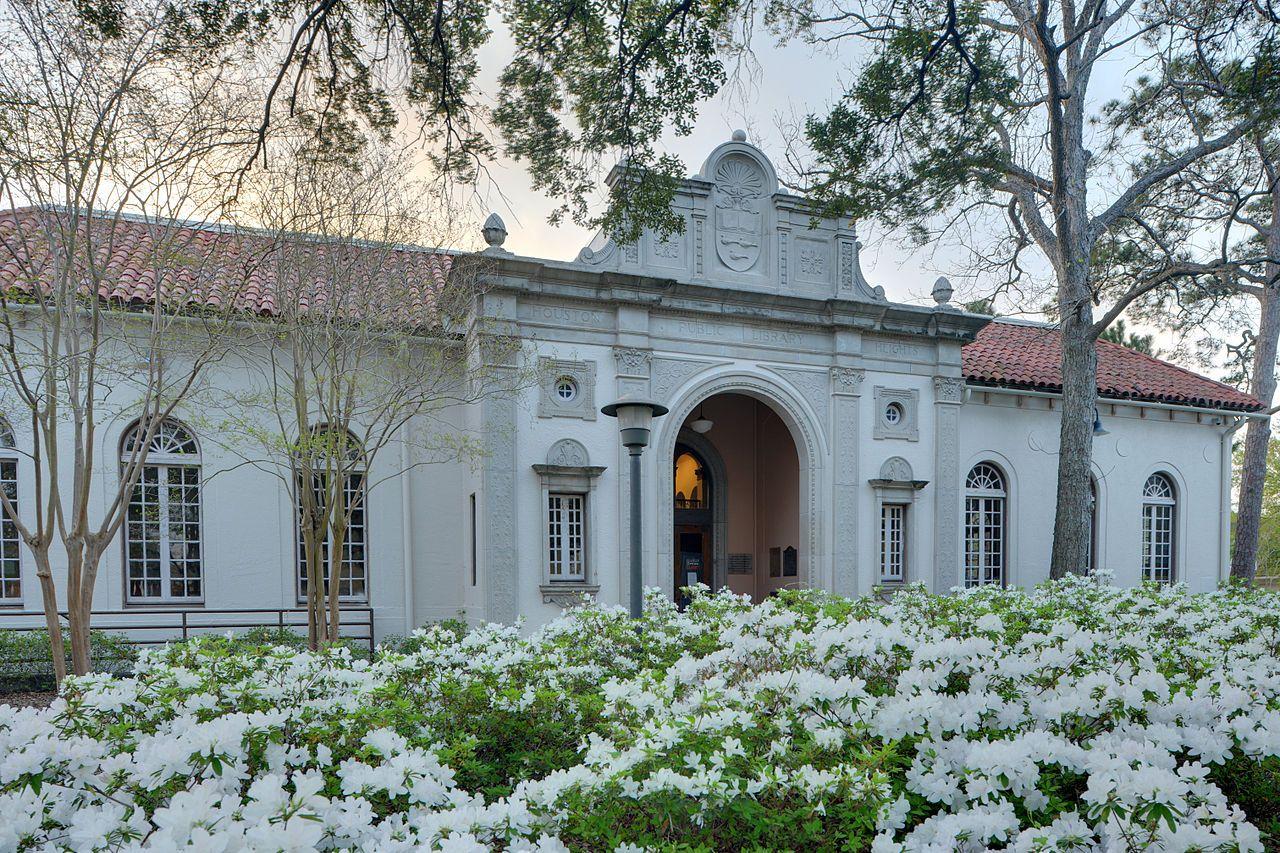 Houston Public Library in Harris County, Texas.