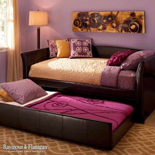 Purple And Yellow Bedroom Colors: Sydney Daybed W/ Trundle