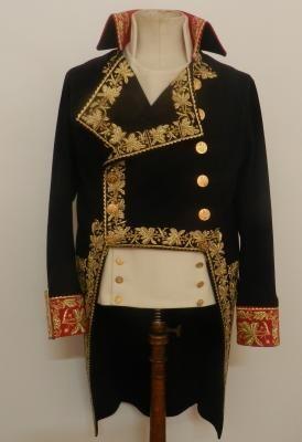 Giacca da generale indossata da Napoleone a Marengo fronte