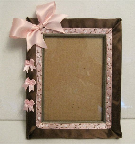 Gorgeous Handmade Picture Frame 5 X 7 With Free Signature By Letsbkreative 34 99 Handmade Picture Frames Handmade Photo Frames Photo Frame Crafts