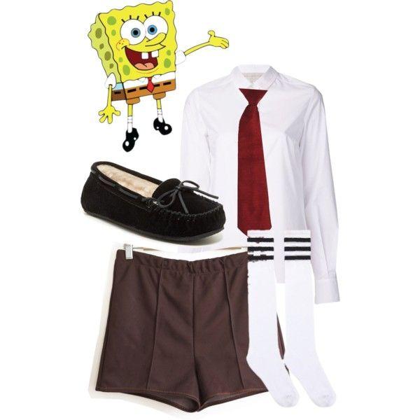 Spongebob costume ideas