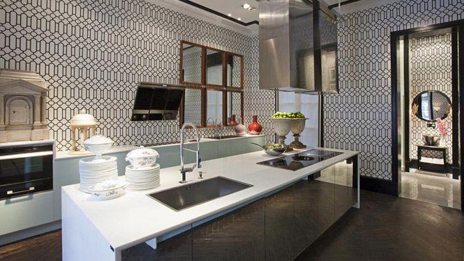 Cocina y cuarto de ba o de ra l martins en madrid 2010 - Cocinas elegantes y modernas ...
