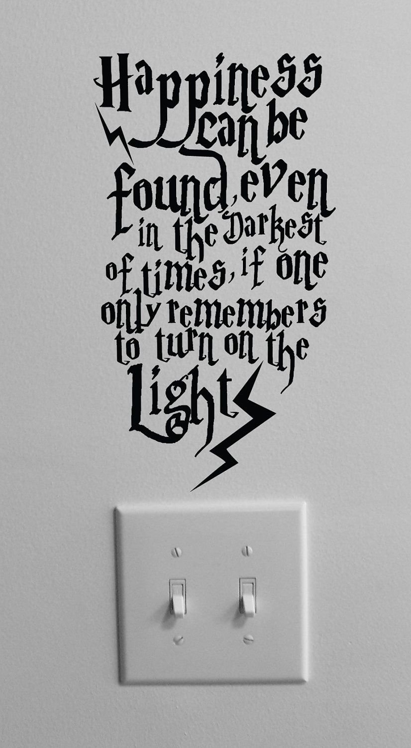 Hp Quotes Harry Potter In My Dorm Roomyes College Dorm  Pinterest