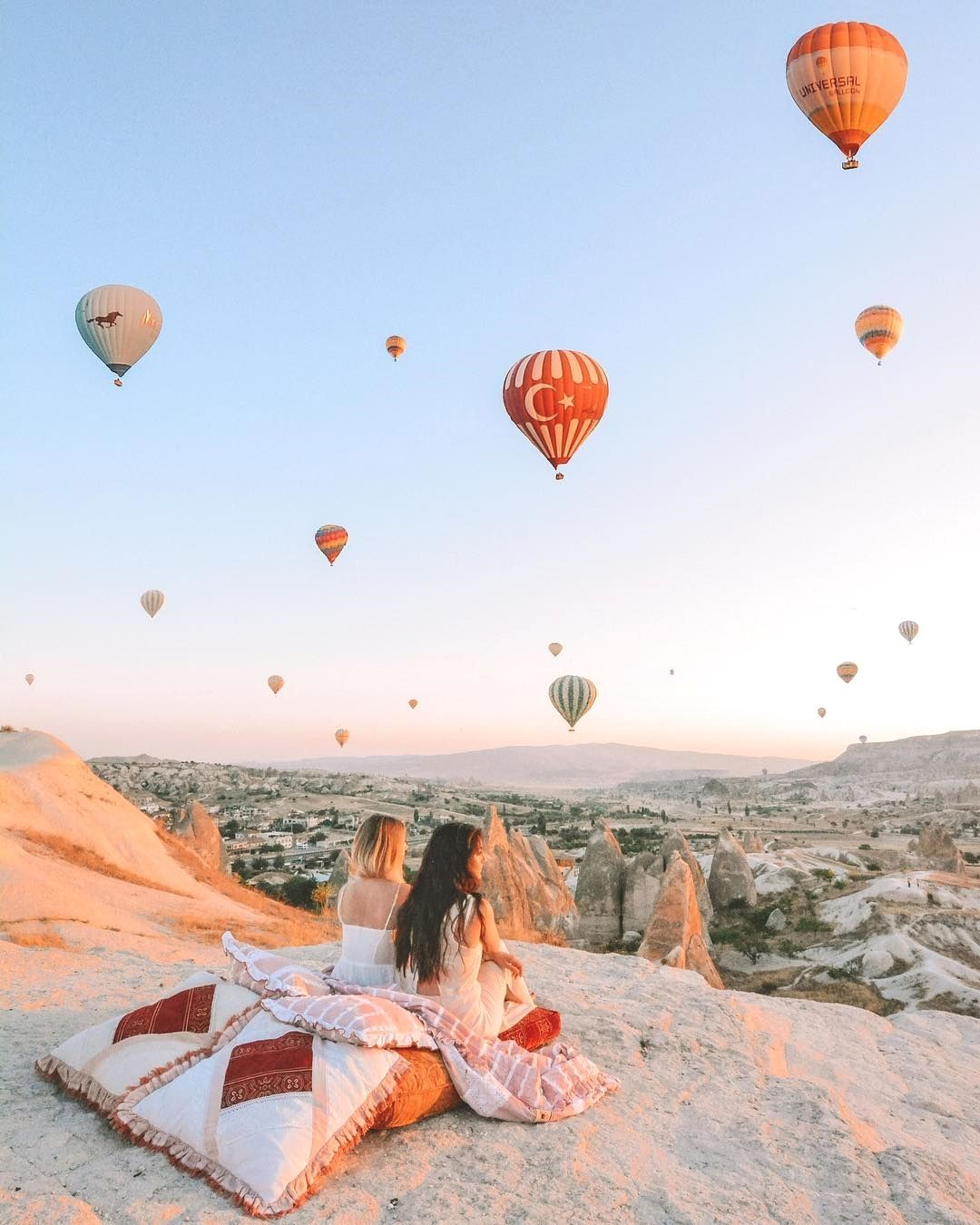 Cappadocia, Turkey #Regram via @darlingescapes   Darling Escapes