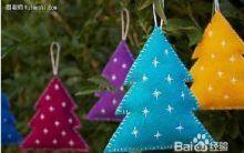Árvore de Natal Em Feltro – Passo a Passo