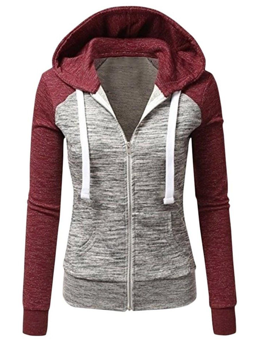 Details about  /Which hoodie Men/'s Casual Hooded Sweatshirt Fleece Coat Long Sleeve Jacket