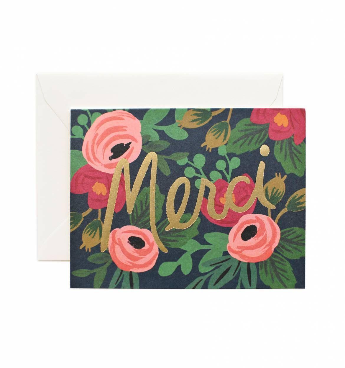Rosa merci greeting card box sets box and stationary rosa merci greeting card kristyandbryce Choice Image