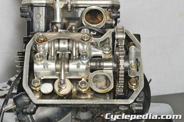 2001-2007 Honda VT750DC Shadow Spirit Engine valve adjustment