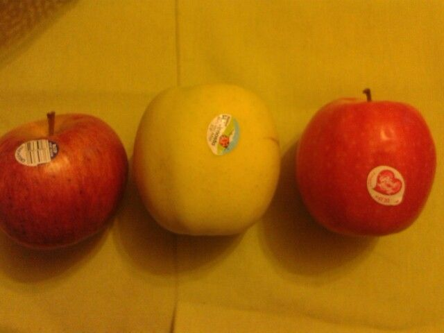 Manzanas de distinta clase. Elije la que más te guste!!!