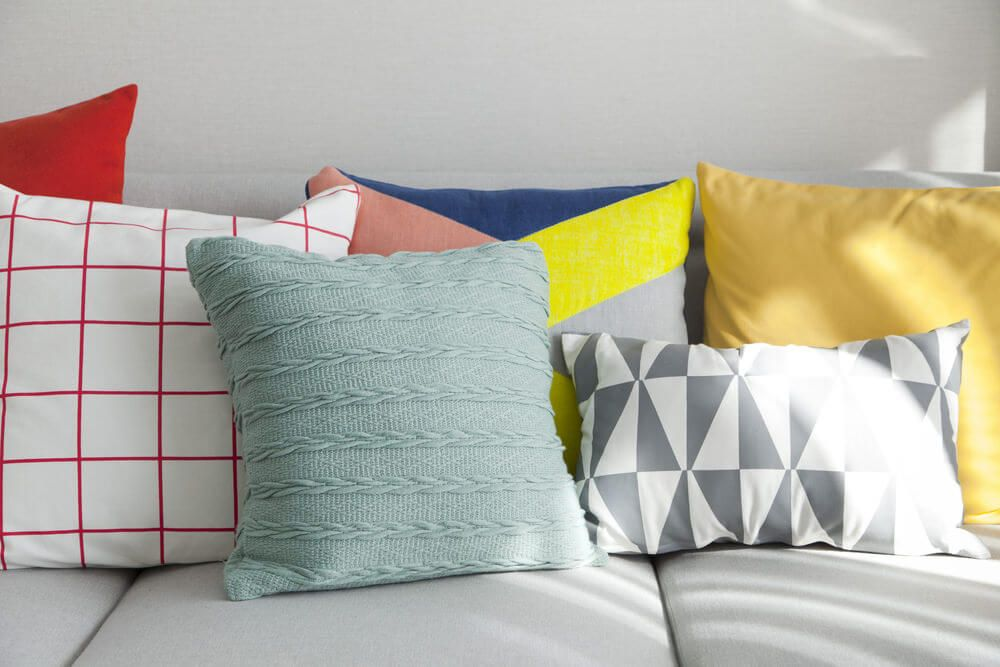 Throw Pillows For Sage Green Couch : Yellow Sofa Throw Styles Sage Green Throw Pillows Navy Pillow Yellow - TheSofa