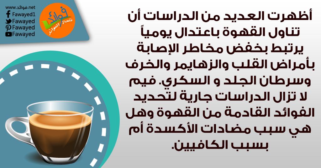 أظهرت العديد من الدراسات الفوائد المترتبة على شرب القهوة يوميا باعتدال Food Health Tableware