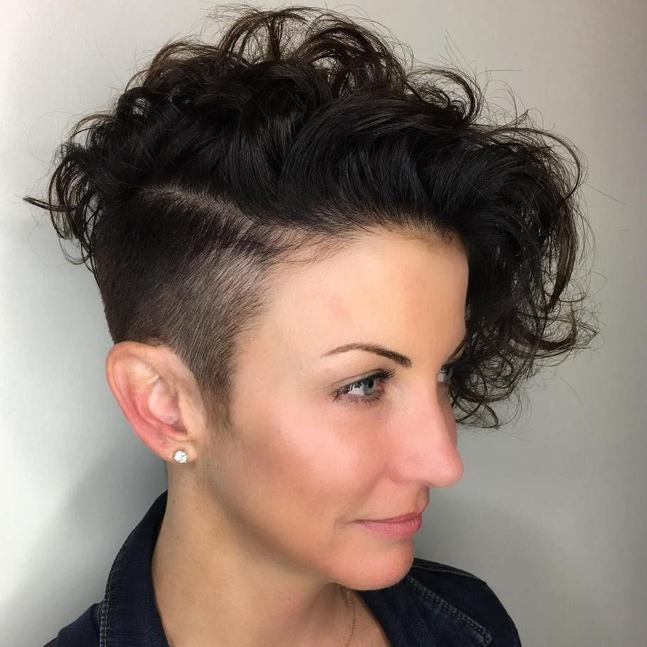 Short Asymmetrical Haircuts For Curly Hair Best Short Hair Styles