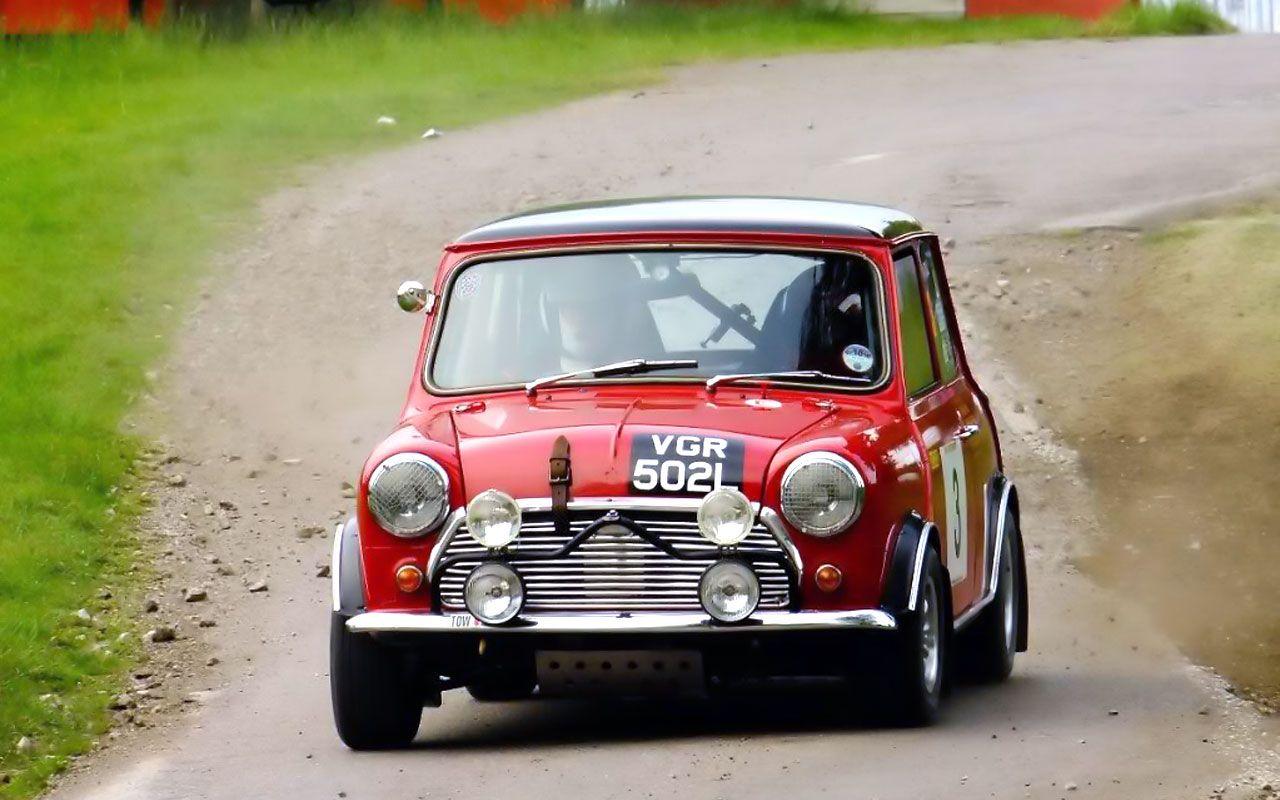 Classic mini racing car | Automotive | Pinterest | Classic mini ...