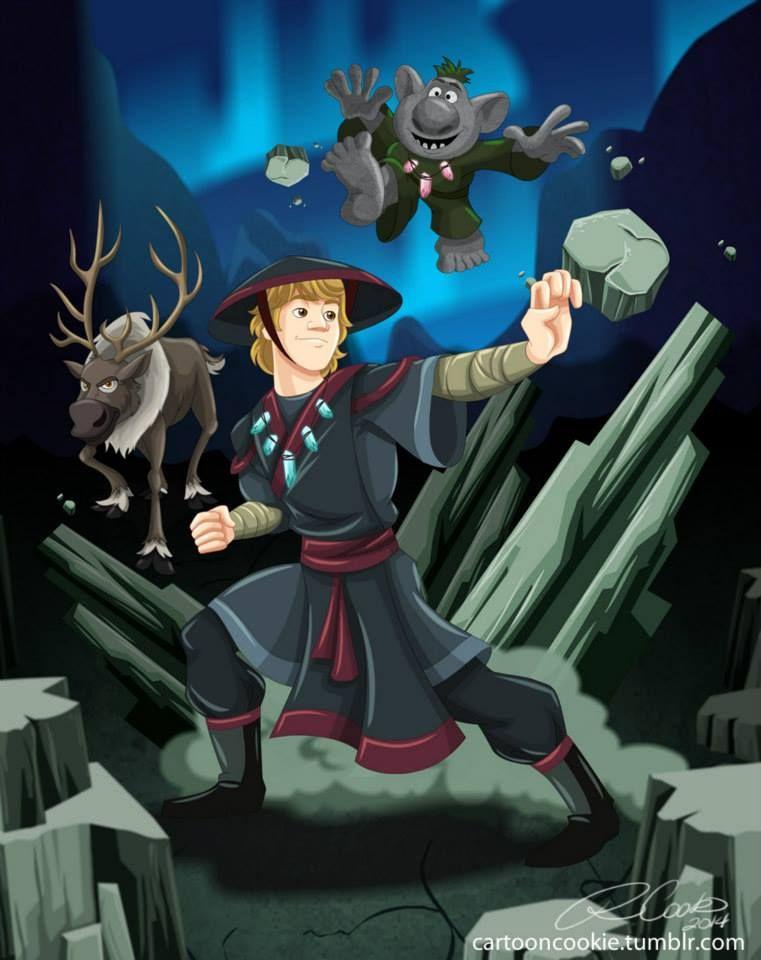 Earthbender Kristoff By Racookie3 On Deviantart Avatar Disney Disney Cartoons Disney Crossovers